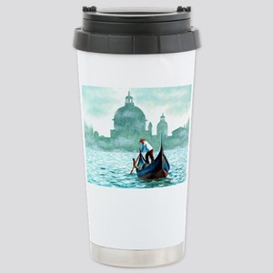 VENETIAN WATERS * Stainless Steel Travel Mug
