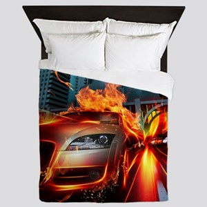 Night Rider Queen Duvet