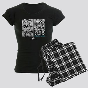 Band Meet Band! Women's Dark Pajamas