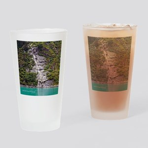 Glacier Waterfall Drinking Glass