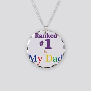Ranked #1 by My Dad (SEO) Necklace Circle Charm