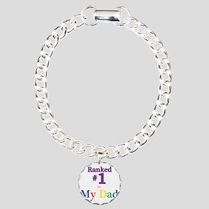 Ranked #1 by My Dad (SEO Charm Bracelet, One Charm
