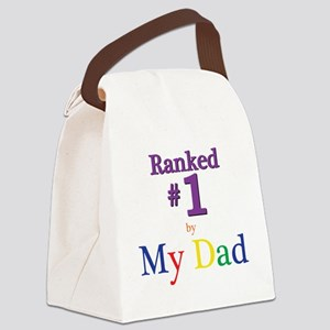 Ranked #1 by My Dad (SEO) Canvas Lunch Bag