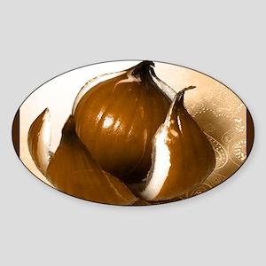 Onion Print Sticker (Oval)