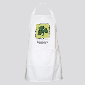 May your blessings... BBQ Apron