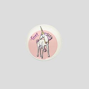 Tori Unicorn Mini Button
