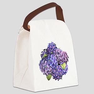 Hydrangea Canvas Lunch Bag