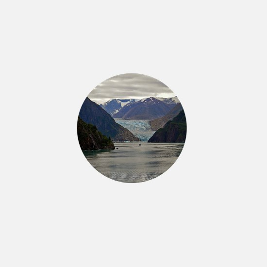 Tracy Arm Glacier Mini Button