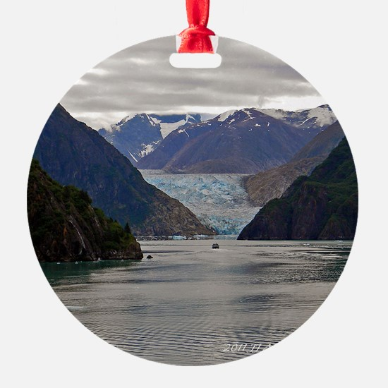 Tracy Arm Glacier Ornament