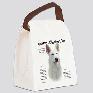 White GSD Canvas Lunch Bag