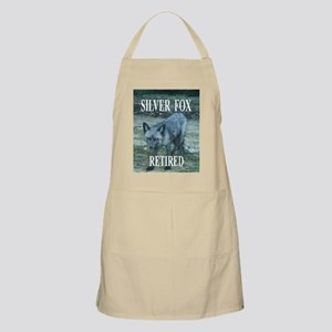 Silver Fox Retired Apron