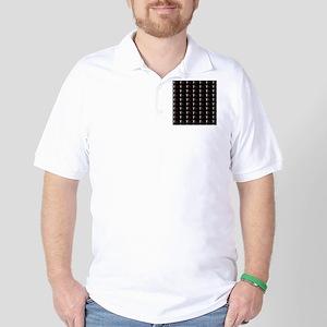 Blackbeard Pirate Flage Edward Teach Pa Golf Shirt