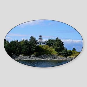 Ketchikan Lighthouse Sticker (Oval)