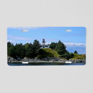 Ketchikan Lighthouse Aluminum License Plate