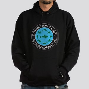 Support Our Sharks - Support Our Oce Hoodie (dark)