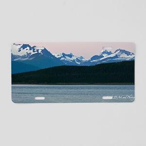 Skagway Sunset Aluminum License Plate