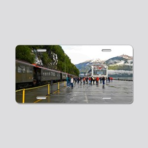 Railway and Cruise Ship Aluminum License Plate