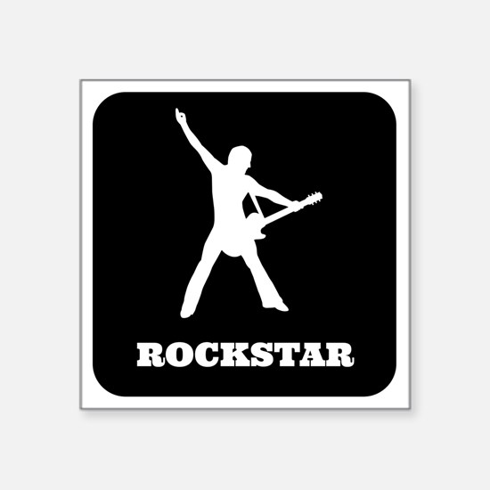 "Rockstar Square Sticker 3"" x 3"""