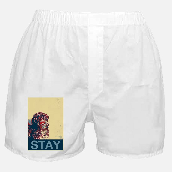 Aesop the Portuguese Water Dog II Boxer Shorts