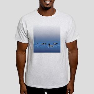 Loon Shower Curtain Light T-Shirt