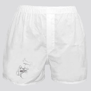 White Gorilla Boxer Shorts