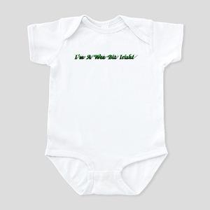 St Patrick's Day Infant Bodysuit(white,blue,pink)