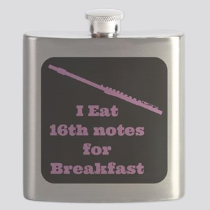 Flute I eat 16th notes for Breakfast Flask