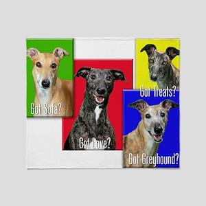 Got Greyhound? Throw Blanket