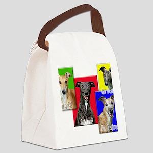 Got Greyhound? Canvas Lunch Bag