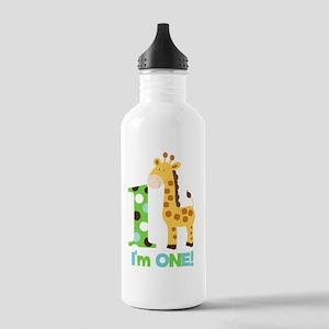 Giraffe Im One First B Stainless Water Bottle 1.0L