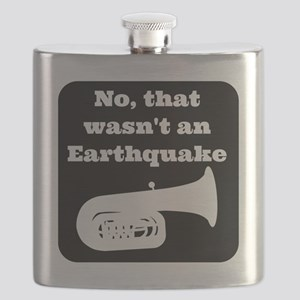 No, that wasnt an earthquake Flask