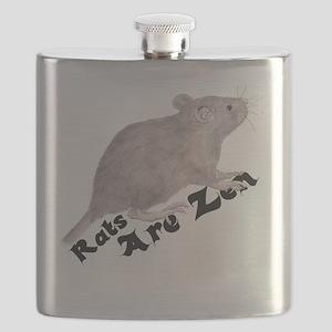 Thrall Zen centered Flask