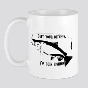 Salmon Fishing Mug