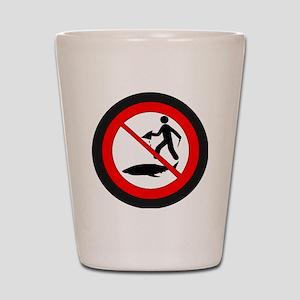 Stop Shark Finning Shot Glass