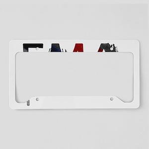 EMA Splatter 2 License Plate Holder