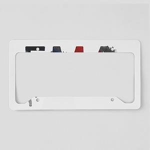 EMA Splatter Light License Plate Holder