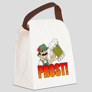 Prost Oktoberfest Canvas Lunch Bag