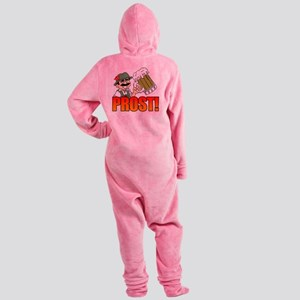 Prost Oktoberfest Footed Pajamas