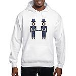 Groom-Groom Wedding Hooded Sweatshirt