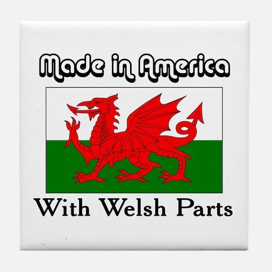 Welsh Parts Tile Coaster