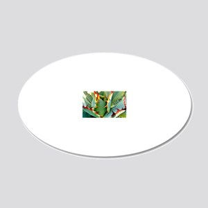 Blood Brothers Cactus 20x12 Oval Wall Decal