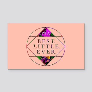 Zeta Tau Alpha Best Little Ev Rectangle Car Magnet