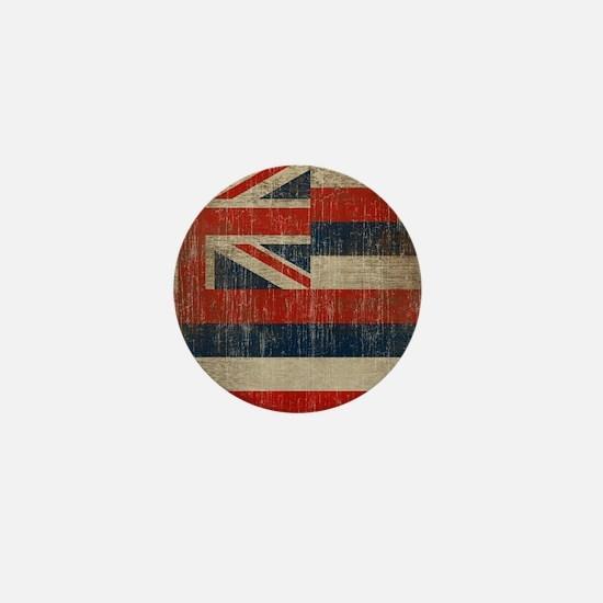 Vintage Hawaii Flag Mini Button