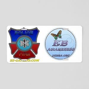 ES-Gamers EB Awareness Aluminum License Plate