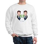 Groom-Groom Wedding Sweatshirt