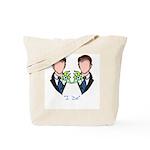 Groom-Groom Wedding Tote Bag