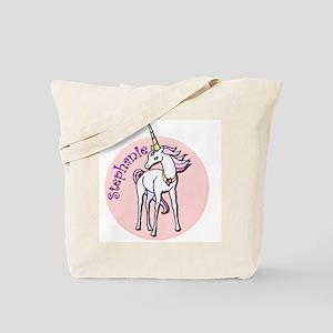 Stephanie Unicorn Tote Bag