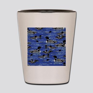 Lots of Loons! Shot Glass