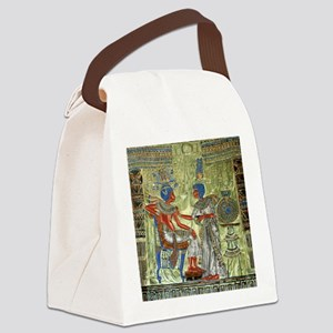 Tutankhamons Throne Canvas Lunch Bag