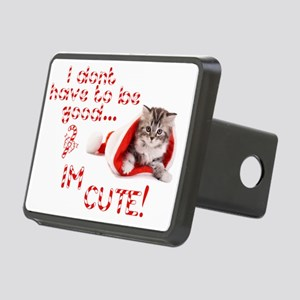 I dont have to be good Im  Rectangular Hitch Cover